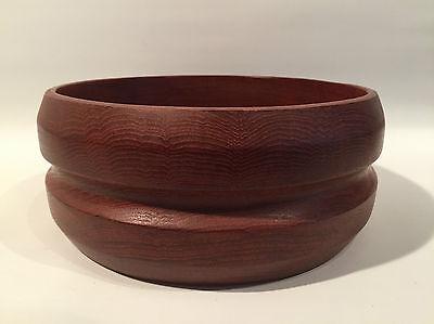 50er 60er Jahre 25,5cm Teak Schale Holz Wood Bowl 50s 60s Design Danish Modern