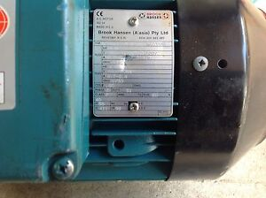 3 phase electric motors new and used. Paddington Brisbane North West Preview