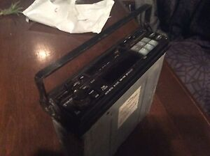 Old alpine pull out stereo