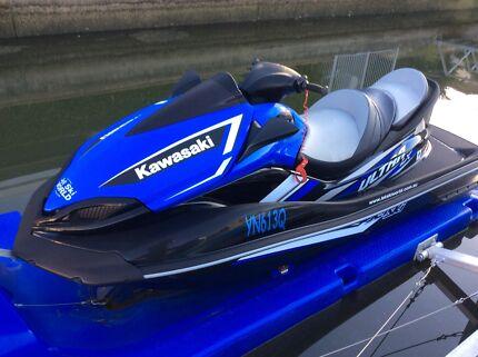 Elegant Superbe 2017 Model Kawasaki Ultra LX JetSki 0 Hours And Has Not Been Used.