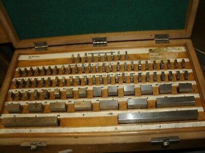 Workshop Grade Gauge Blocks - 81 Pc Set