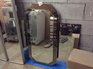 """Large Beveled Edged Mirror(The one in the back) 48"""" X 30"""""""