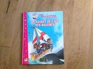 """BD Téa stilton """"le secret de l'île des baleines"""""""