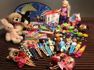 Huge Lot of Toys for a Girl, in great condition.