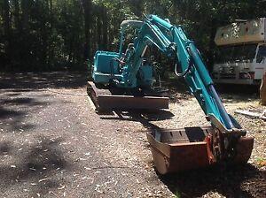 YanmarB50 5ton excavator in excellent working condition Noosaville Noosa Area Preview