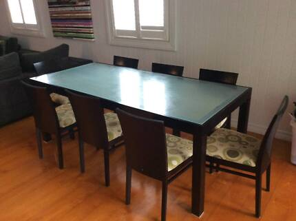 Square Dining Table inc 8 chairsDining TablesGumtree