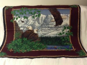 3 arts and crafts cloth panel