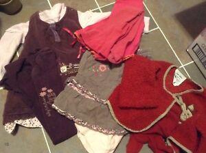 Lot de vêtements filles gr 2 ans - 50 morceaux
