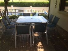 9 piece outdoor dining setting Moss Vale Bowral Area Preview