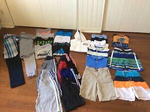 Lot 30 morceaux vêtements été garçon 12 ans