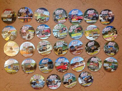 32 Australian 4WD Action DVD's Issue 139-170 Rapid Creek Darwin City Preview