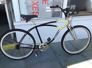 Bike cruiser retro springer front end with 3 speed Shimano Nexus Bayswater Bayswater Area Preview
