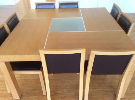 8 seater square dining table dining tables gumtree