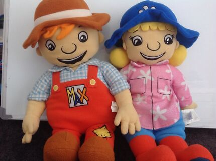 New MacDonald's Farm Max and Milly Plushes
