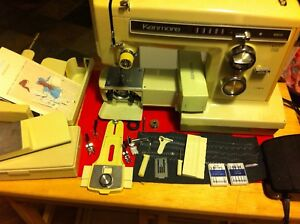 Kenmore Model 158 Free-arm Convertible Sewing Machine - Powerful