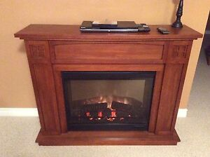 Dimplex Electric Fireplace with Mantel