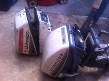 evinrude⁄johnson 2 x 6 hp outboard motor selling parts only Mount Druitt Blacktown Area Preview