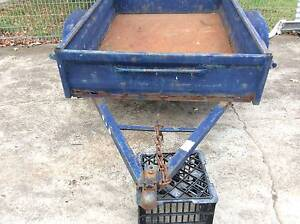 box trailer 6x4 no rego some rust in floor & sides draw is bent Mount Druitt Blacktown Area Preview