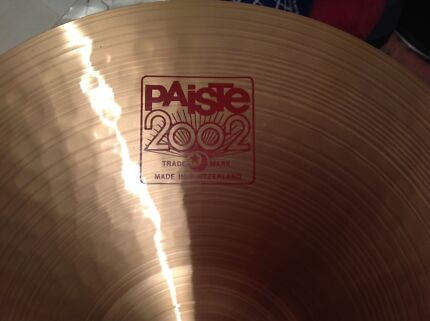 WANTED PAISTE 2002  20/22inch MEDIUM RIDE CYMBAL Duncraig Joondalup Area Preview