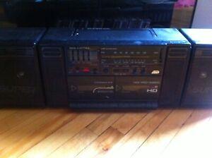 Radio-cassette double