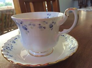 Royal Albert Memory Lane teacup and saucer sets x 3 Little Mountain Caloundra Area Preview