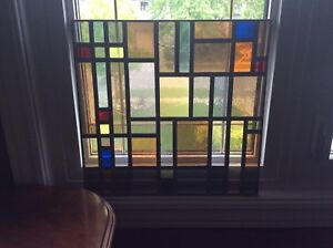 Stain Glass Window (2 panels)