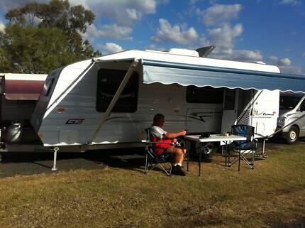 Caravan 20ft 2011 Franklin G2 Plus Heritage Park Logan Area Preview