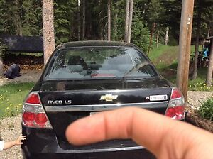 2006 Chevy aveo sedan LS