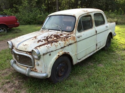 1954 Fiat For Sale Barn Find