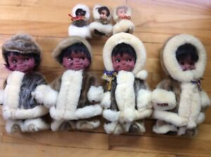 Poupées inuits de collection