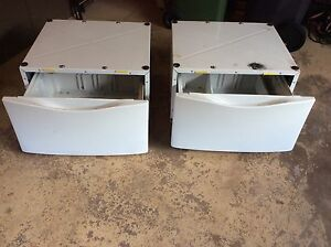 Maytag washer and dryer pedestals and draws