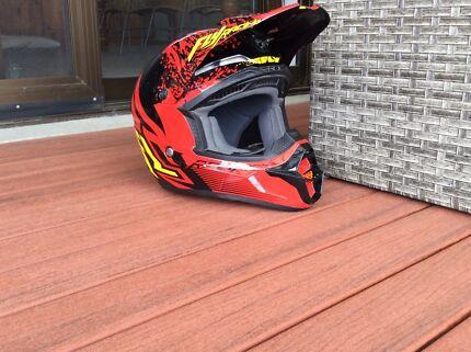 Kids MX Fly Racing Helmet