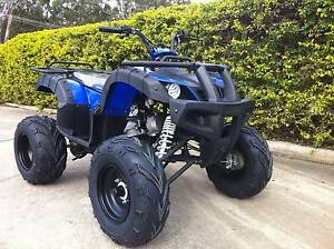 200CC  BUSHMAN FARM QUAD - FULL AUTO - TOW BAR Jimboomba Logan Area Preview
