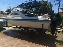 Runabout Nova boat and trailer Birkenhead Port Adelaide Area Preview