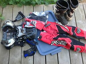 Fox dirt biking gear
