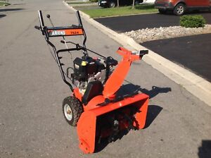 Ariens  24 inches wide double stage & self propelled snowblower