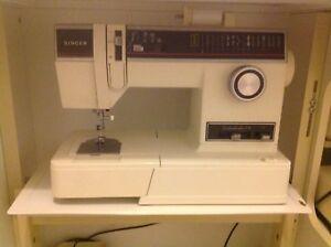 Singer- Janome -Sewing Machine / Overlocker full set up