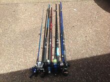 For sale fishing rod (x5) Glendenning Blacktown Area Preview