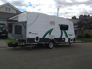 Windsor Rapid 2014 494s Expander Family Caravan New Lambton Newcastle Area Preview