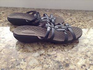 Privo by Clarks black sandals. Size 10. New condition.