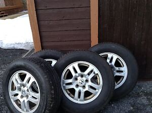 Set of 4 Mud and Snow Tires 20570R15