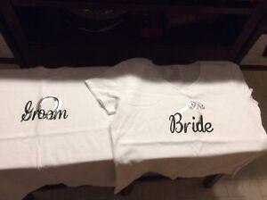 Bride & Groom T-shirt's
