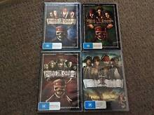 Pirates Of The Caribbean complete set brand new Johnny Depp Margate Redcliffe Area Preview