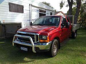 2004superior 5th wheeler with f250 tow vehicle The Vines Swan Area Preview