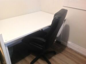 Work/office Desk & Chair - $70 obo
