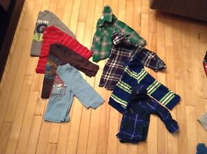 Size 24 month/2T long sleeve boys shirts