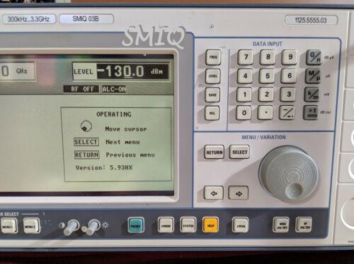 4pcs Rohde & Schwarz SMIQ/SMT/SME compatible 3D printed knob + power button set