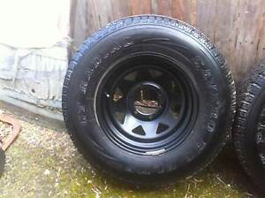 Toyota Hilux patrol pajero sun raiser wheels Gladesville Ryde Area Preview