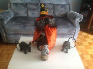 Lot de décoration d'Halloween