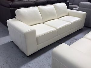 Brand new Leather 3S Sofa - $990 Each - 50% off RRP Epping Whittlesea Area Preview